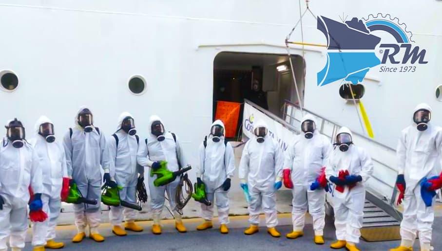 RM_sanitizing team